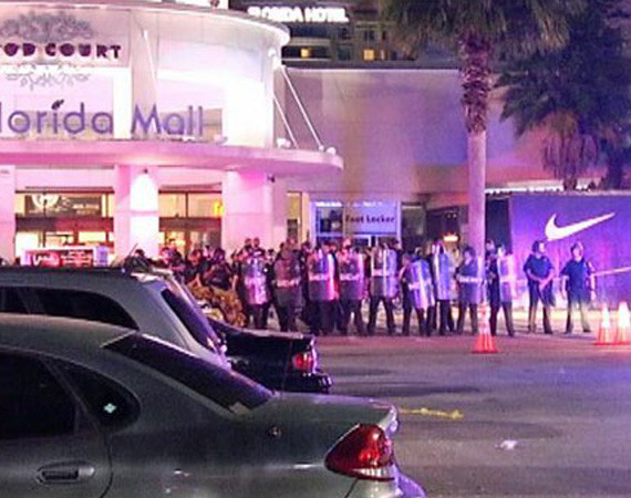 Выпуск кроссовок Nike Air Galaxy вызвал массовые беспорядки в магазинах. Изображение № 3.