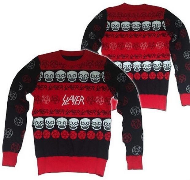 Группа Slayer выпустила рождественский свитер. Изображение № 1.