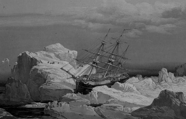 Почему потерянная экспедиция Франклина так важна для научного мира . Изображение № 1.