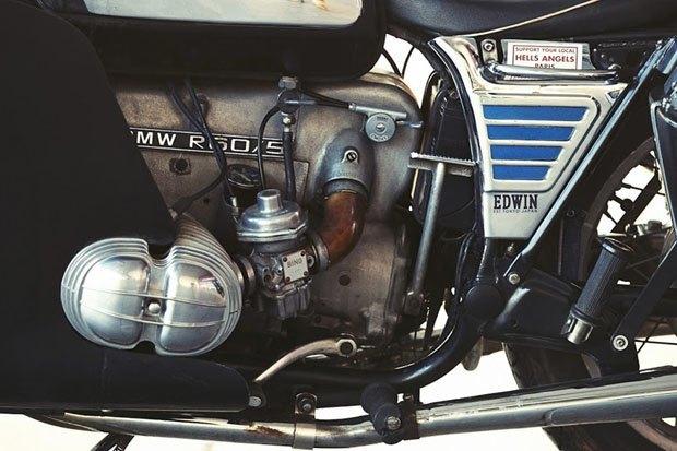 Себ Лоренц собрал новый байк на базе BMW R60/5. Изображение № 9.