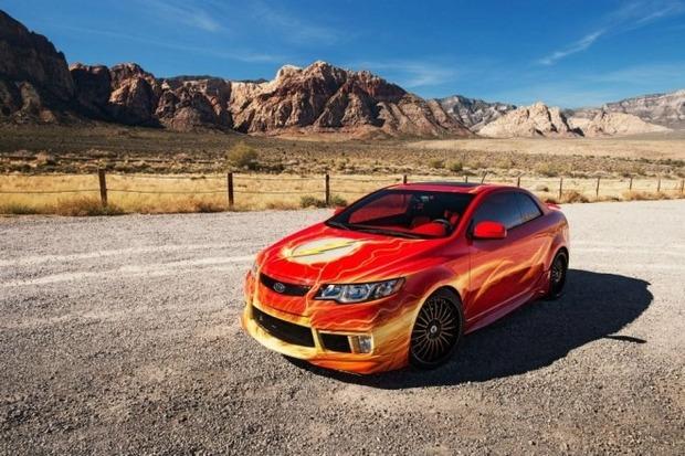 Kia показала пять из восьми «супергеройских» автомобилей. Изображение № 17.