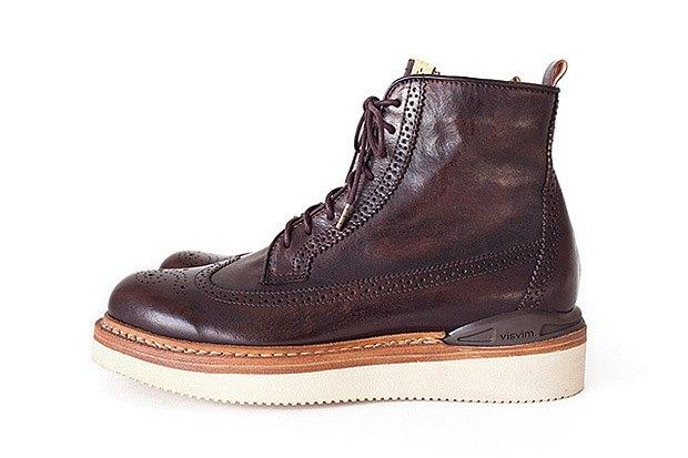 Марка Visvim представила вторую часть осенней коллекции обуви. Изображение № 8.