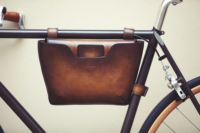 Велофирма Cycles Victoire в сотрудничестве с Berluti представила новый велосипед. Изображение № 2.