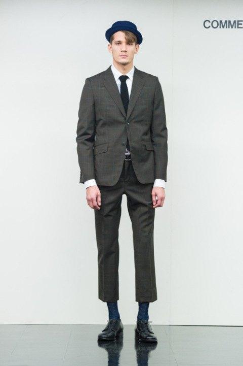 Марка Comme des Garçons Homme опубликовала лукбук новой коллекции. Изображение № 1.