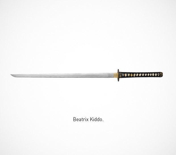 Итальянский дизайнер представил коллекцию ножей знаменитых персонажей. Изображение № 4.