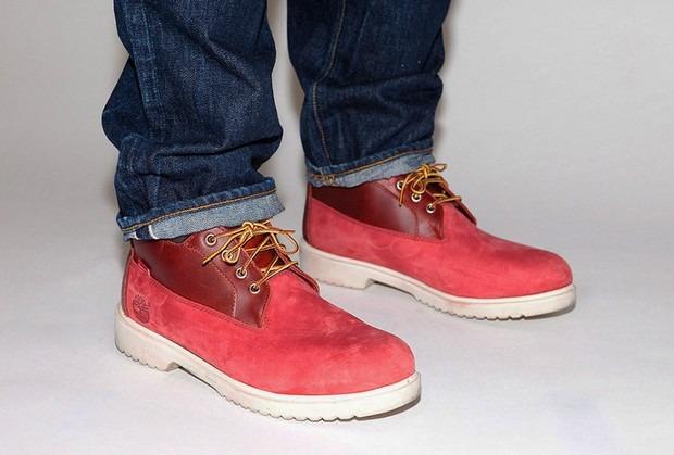 Марки Supreme и Timberland представили совместную коллекцию обуви. Изображение № 5.