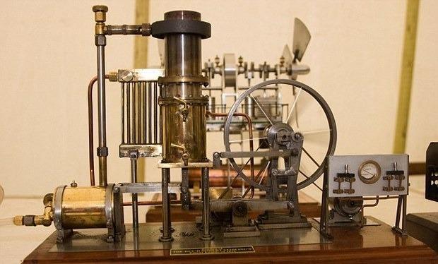 Двигатель Стирлинга 1816 года. Изображение № 2.