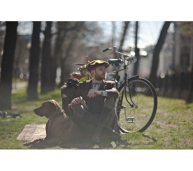 Организаторы велозаезда Tweed Ride Moscow опубликовали тематический лукбук. Изображение № 13.