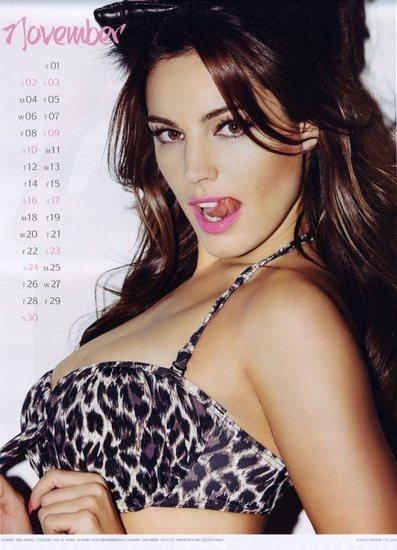 Актриса и модель Келли Брук выпустила собственный эротический календарь. Изображение № 12.