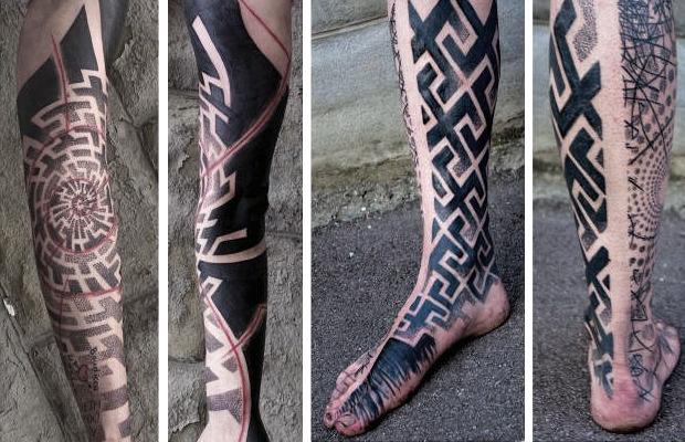 Точка на плоскости: Гид по дотворку — особенной технике татуировок. Изображение №31.