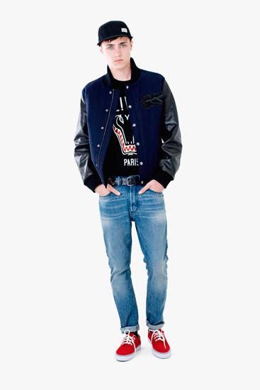 Марка Lacoste выпустила осеннюю коллекцию одежды линейки L!VE . Изображение № 8.