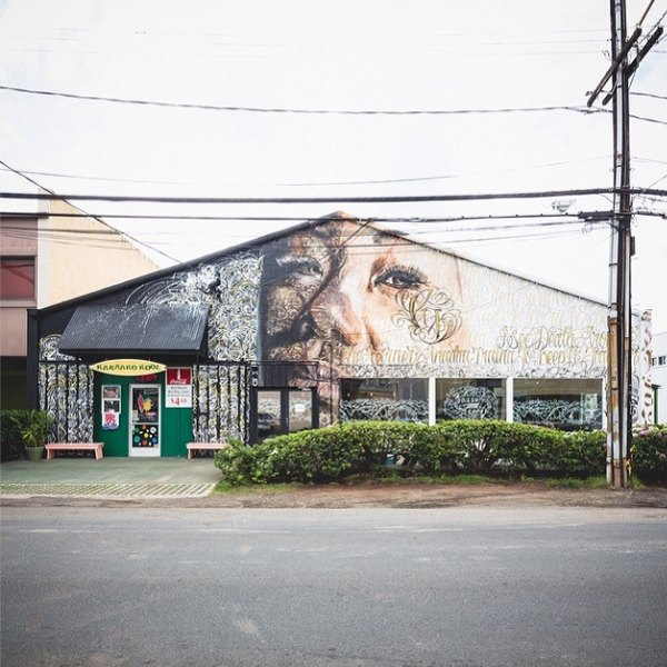 Гавайский фестиваль граффити Pow! Wow! в Instagram-фотографиях участников. Изображение № 11.