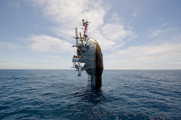 Единственный в мире корабль-перевертыш отметил полувековой юбилей. Изображение № 3.