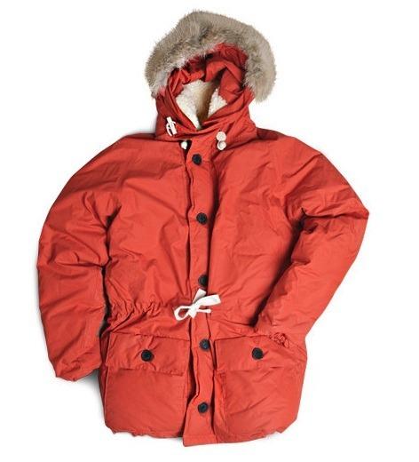 Классический вариант куртки Nigel Cabourn Everest Parka. Стоит обычно около $3000.. Изображение № 9.