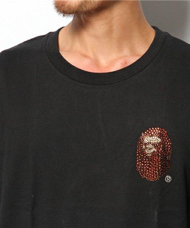 Марка A Bathing Ape анонсировала лукбук новой коллекции с камнями Swarovski. Изображение № 4.