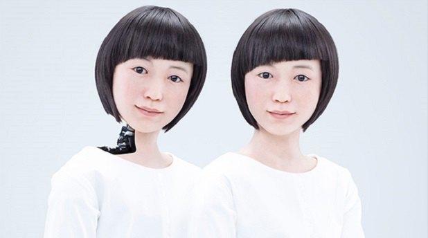 В Японии появился андроид-телеведущий. Изображение № 1.