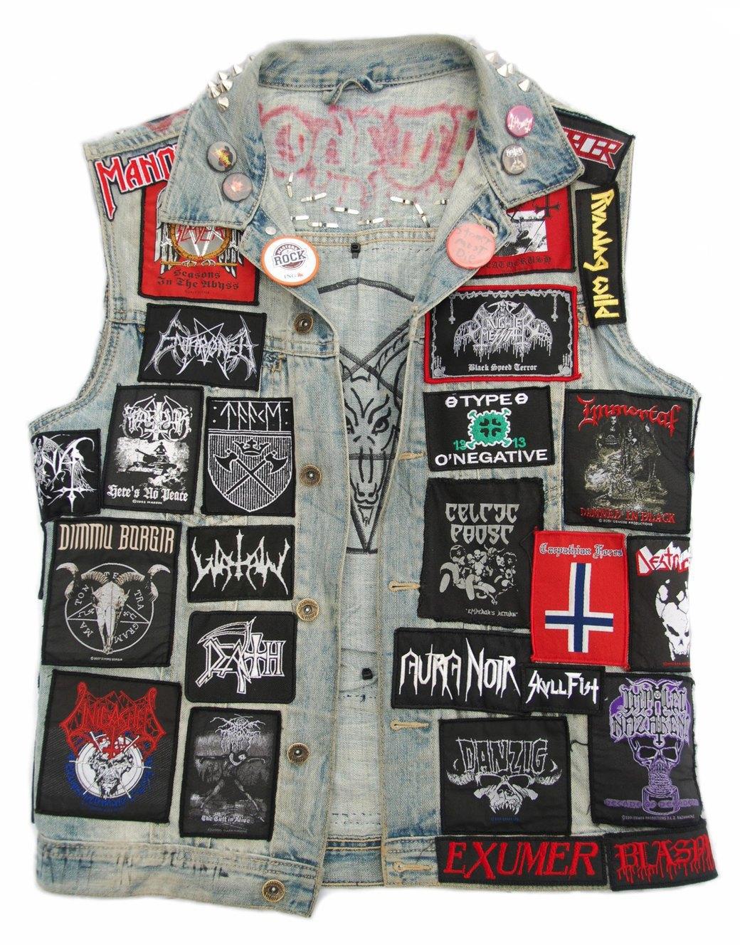 Цельнометаллическая оболочка: Путеводитель по курткам металлистов в формате фоторепортажа. Изображение № 19.