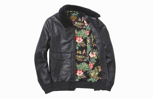 Новая куртка Supreme и Schott NYC. Изображение № 1.