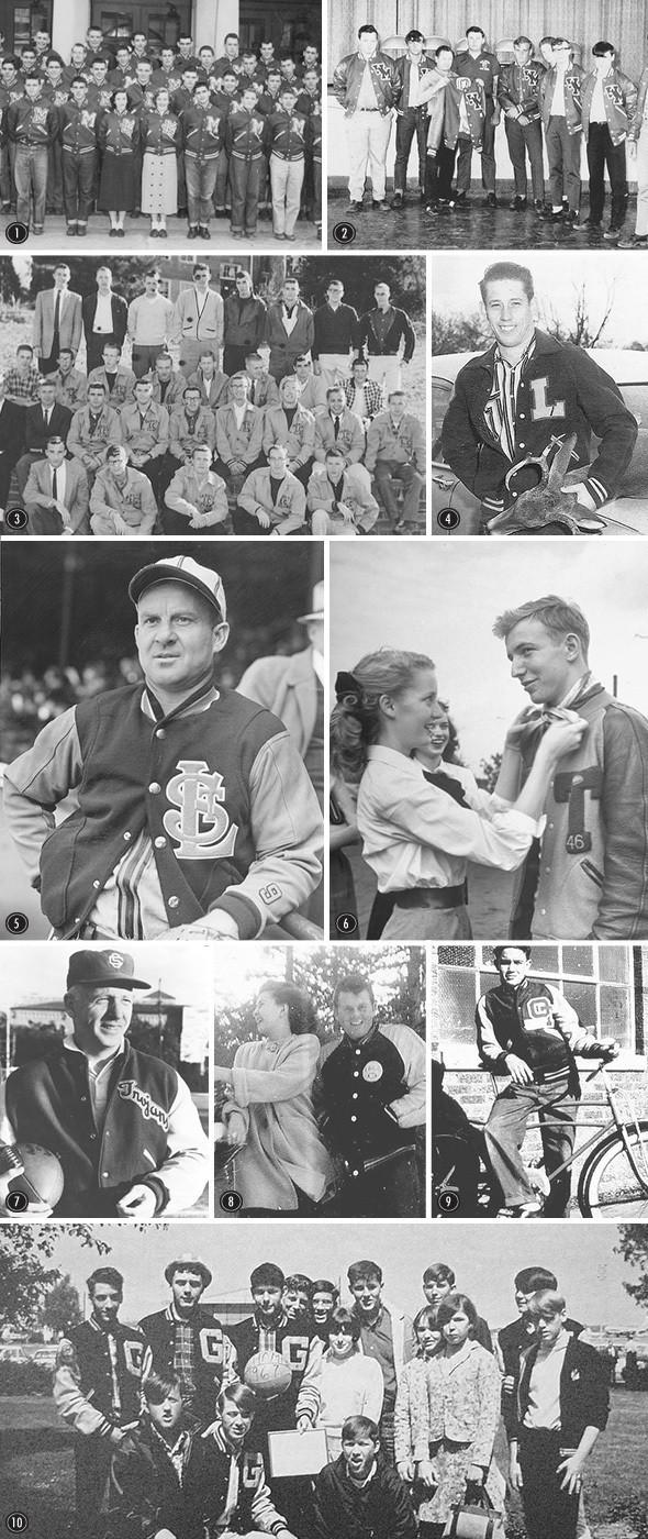 Изображение 54. Куртка с большой буквы: история varsity jacket.. Изображение № 2.