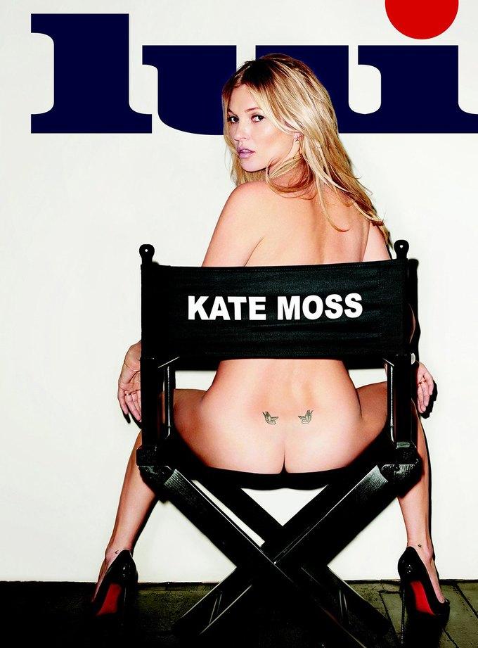 Терри Ричардсон сфотографировал обнаженную Кейт Мосс для журнала Lui Magazine. Изображение № 2.