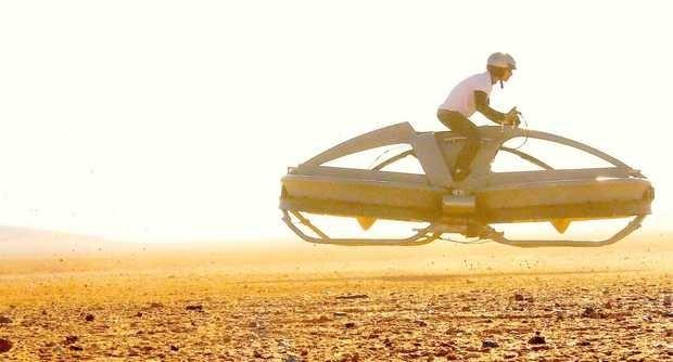 Американцы создали летающий мотоцикл в стиле «Звездных войн». Изображение № 1.