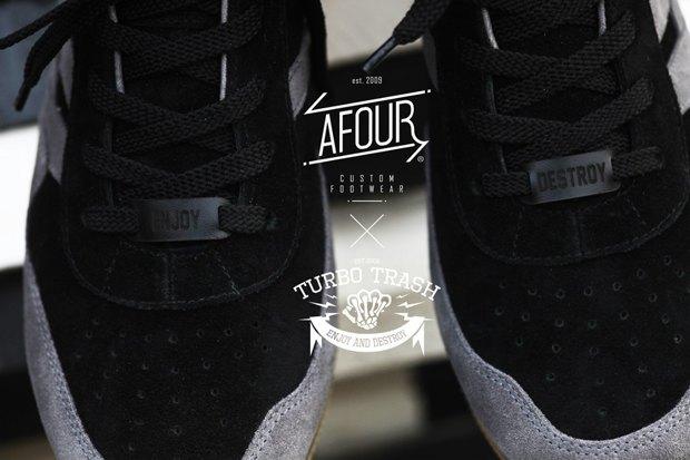 Марки Afour и TurboTrash выпустили совместную модель обуви. Изображение № 1.