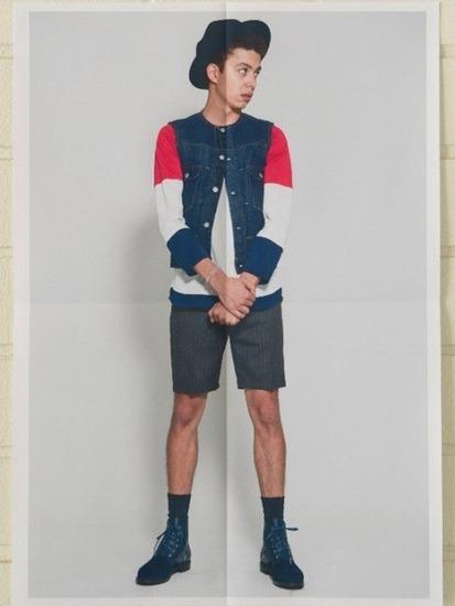Японская марка Discovered выпустила лукбук весенней коллекции одежды. Изображение № 10.