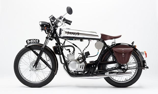 Красота по-американски: Фирма из США начала выпускать мотоциклы-малолитражки в стиле 1920-х годов. Изображение № 1.