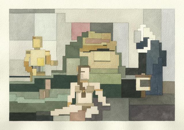 Адам Листер: Иконы поп-культуры в 8-битной живописи. Изображение № 18.