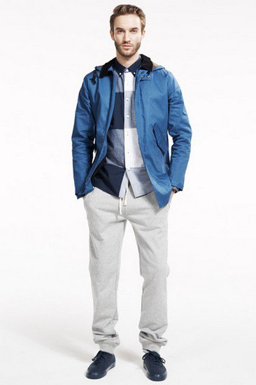 Марка Saturdays Surf NYC выпустила лукбук осенней коллекции одежды. Изображение № 13.