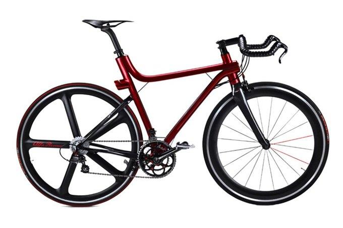 Alfa Romeo и Compagnia Ducale выпустили карбоновый велосипед IFD 4C. Изображение № 1.