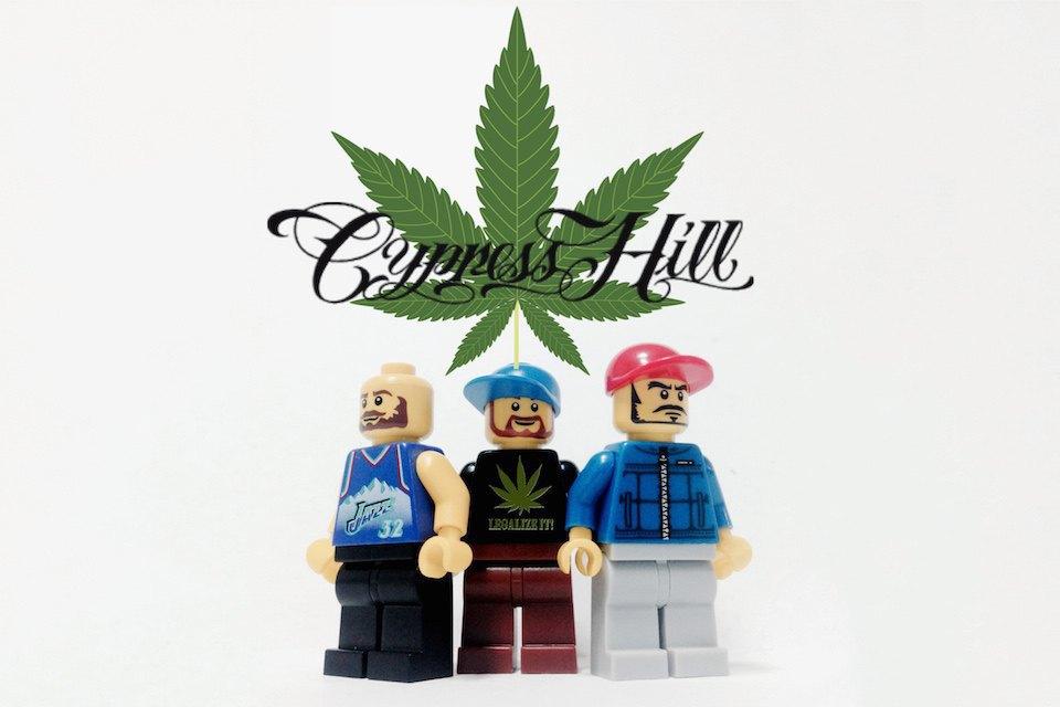 Lego-go: Культовые группы в виде фигурок из конструктора LEGO. Изображение № 1.