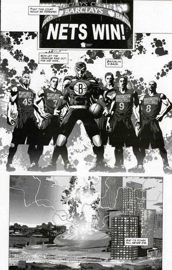 Marvel представили первого в истории супергероя-баскетболиста. Изображение № 15.