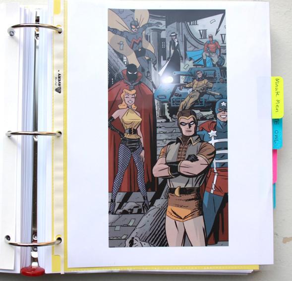 В сети появились иллюстрации приквела комикса «Хранители». Изображение № 11.