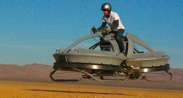 Американцы создали летающий мотоцикл в стиле «Звездных войн». Изображение № 2.