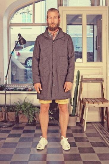 Марка Uniforms for the Dedicated опубликовала лукбук весенней коллекции одежды. Изображение № 5.