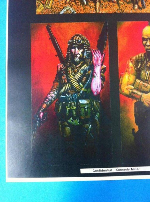Опубликованы первые концепт-арты фильма «Безумный Макс: Дорога ярости». Изображение № 1.