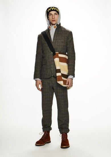 Марка Woolrich Woolen Mills опубликовала лукбук осенней коллекции одежды. Изображение № 9.