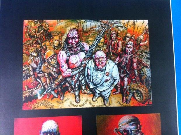 Опубликованы первые концепт-арты фильма «Безумный Макс: Дорога ярости». Изображение № 16.