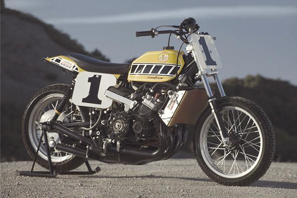 История и особенности мотоциклов для гонок по грязевому овалу —флэт-трекеров. Изображение № 19.