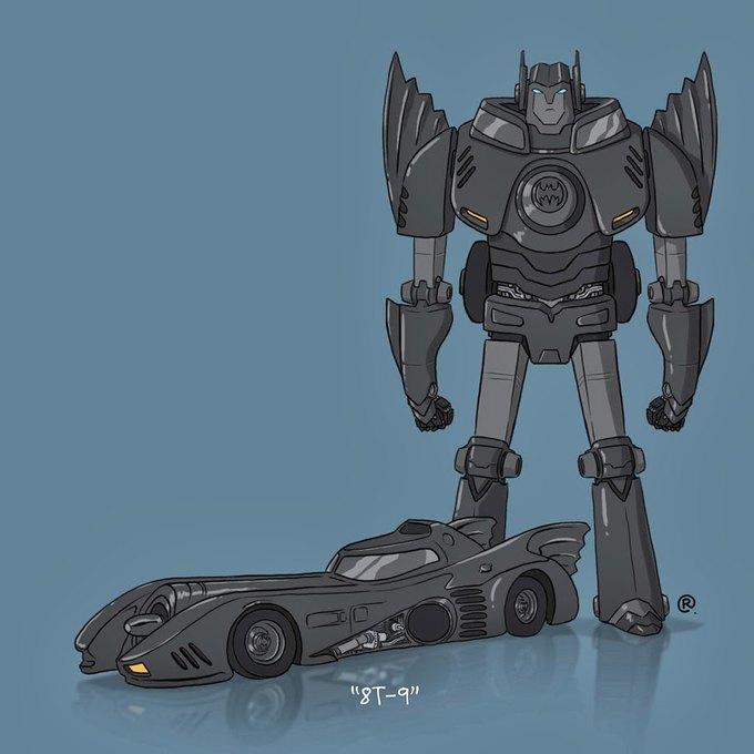 Даррен Роулингс: Если бы машины из культовых фильмов были трансформерами. Изображение № 2.