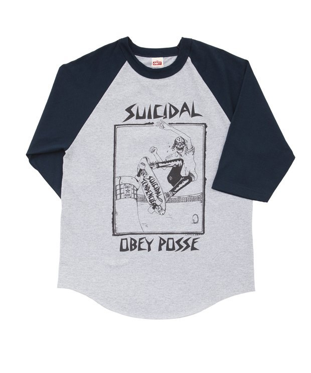 Марки Obey и группа Suicidal Tendencies выпустили совместную коллекцию одежды. Изображение № 14.