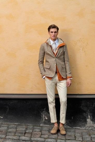 Марка Gant Rugger представила лукбук весенней коллекции одежды. Изображение № 9.