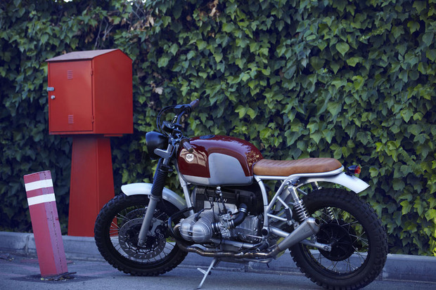 Мастерская Cafe Racer Dreams выпустила скрэмблер на основе BMW R100RT 1983 года. Изображение № 5.