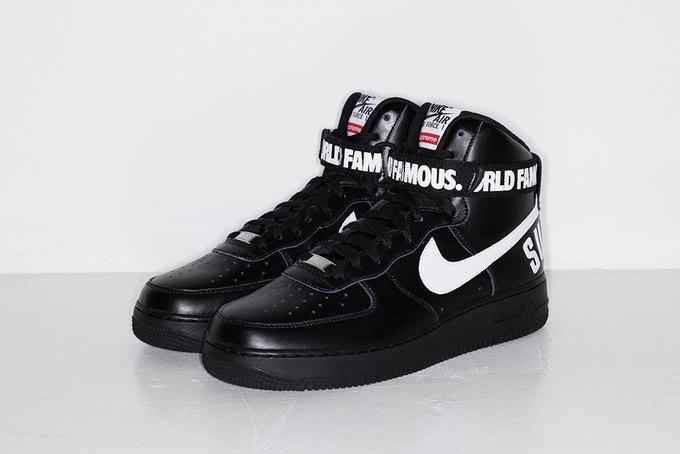 Марки Supreme и Nike выпустили совместную коллекцию кроссовок. Изображение № 6.