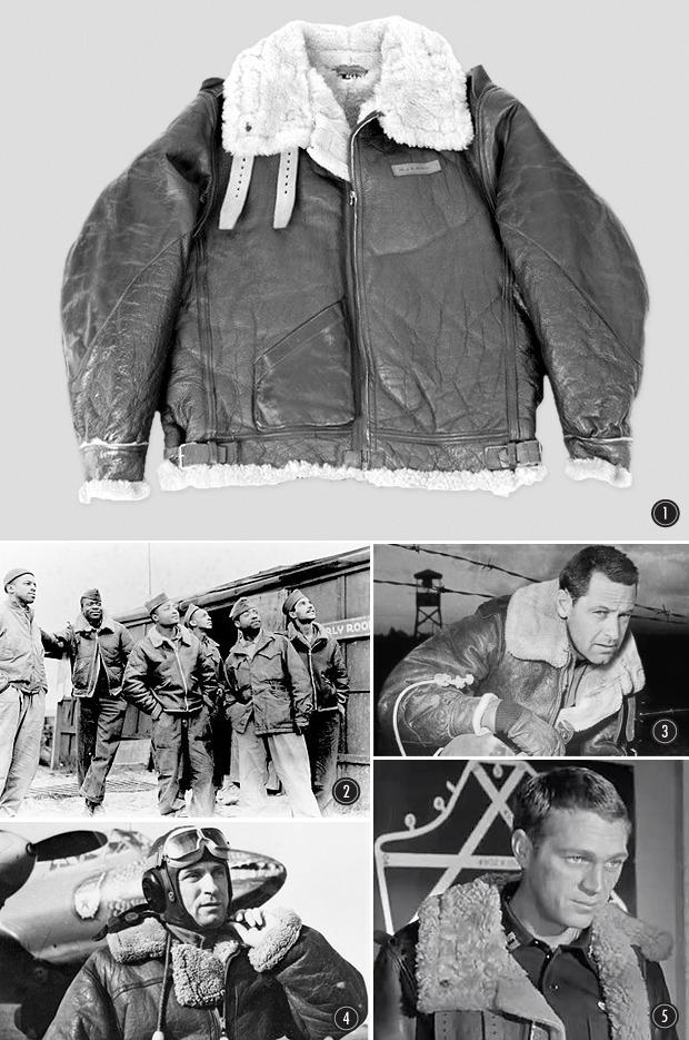 На высоте: История и особенности легендарной пилотской куртки на меху — B-3. Изображение № 9.