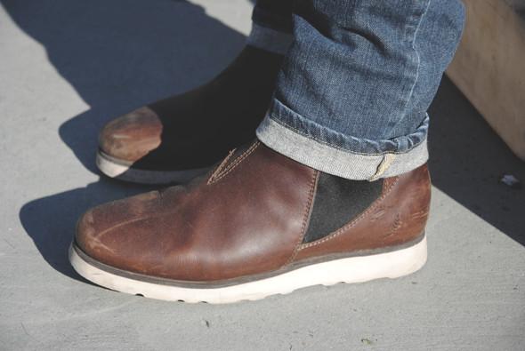Детали: Репортаж с выставки мужской одежды Pitti Uomo. День первый. Изображение № 5.