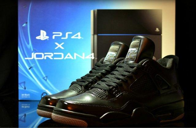 Air Jordan выпустили кроссовки, вдохновлённые PS4, с HDMI. Изображение № 2.