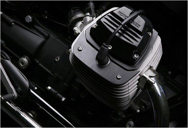 Стефан Вернье построил новый кастом на базе Moto Guzzi V7 Stone . Изображение № 4.