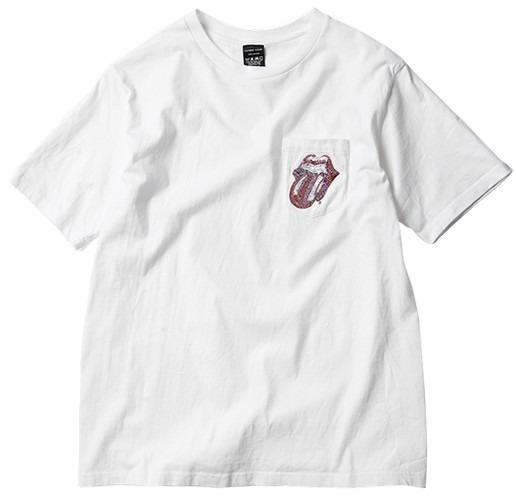Японские модные бренды отметили юбилей The Rolling Stones коллекцией футболок. Изображение № 9.